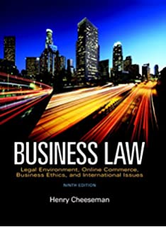 Business law study guide 5th edition ramona atkins 9780131460966 business law 9th edition fandeluxe Gallery