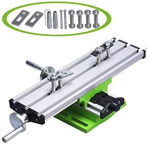Jinwen 122518 Bench Drill Multifunction Worktable Milling Working Table Milling Machine Compound Drilling Slide Table by Jinwen