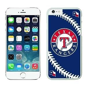 Apple iPhone 6 Plus Phone Case,Texas Rangers TPU iPhone 6Plus 5.5 inch Protective Skin Case 1 White