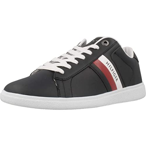 c14cbe456c28d Zapatillas Tommy Hilfiger FM0FM01697 100 White  Amazon.es  Zapatos y  complementos