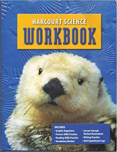 Harcourt Science Workbook, Grade 1: HARCOURT SCHOOL PUBLISHERS ...