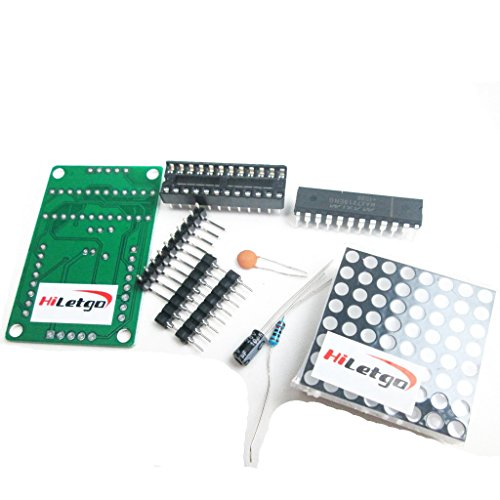 HiLetgo MAX7219 Dot matrix module DIY kit MCU control Display module for Arduino (Max7219 Dot Matrix Module compare prices)