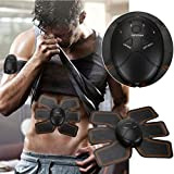 Magic Muscle Toner, DMZing Abdominal Toning Belt, EMS Abs Trainer Wireless Body Gym Workout Home Office Fitness Equipment For Abdomen/Arm/Leg Training Men Women