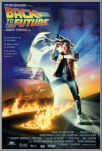 Back To The Future - Framed Movie Poster / Print