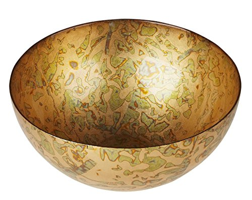 Red Pomegranate 8133 Gilded Tableware Centerpiece Bowl, 12