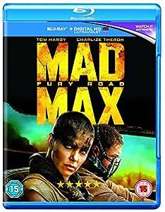 Mad Max: Fury Road [Blu-ray + Dolby Atmos + Dolby Digital] [2015] [Region Free]