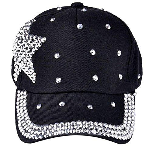 Susenstone%C2%AENew Fashion Baseball Rhinestone Snapback