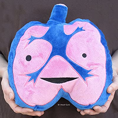 I Heart Guts Lungs Plush - I Lung You - 11