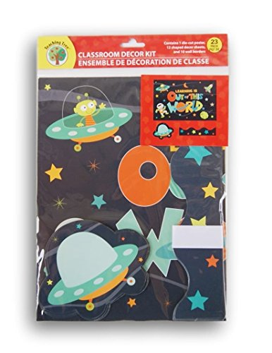 Teaching Tree Classroom Decor - Learning is Out of This World Space Theme - 23 (Classroom Decor Themes)