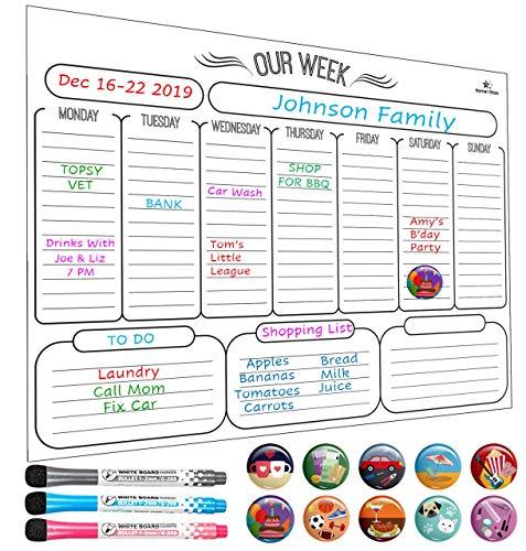 Magnetic Family Calendar
