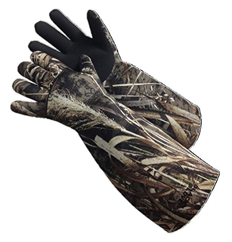 Glacier Glove Elbow Length Decoy Gloves, Max 5 Camouflage, XX-Large