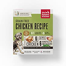 Honest Kitchen The Human Grade Dehydrated Grain Free Chicken Dog Food, 4 lb - Force