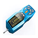Digital Surfaces Roughness Tester Meter Handheld Surfaces Roughness Measuring Gauge with Multiple Parameter Testing OLED Display Data Storage