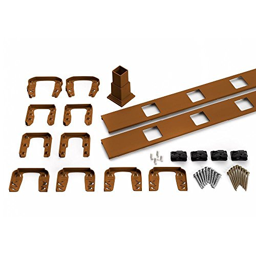 (Trex Transcend 91.5 in. Tree House Horizontal Square Baluster Accessory Kit)