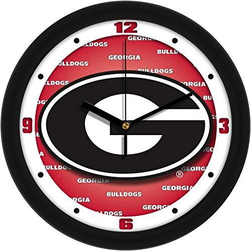 SunTime Georgia Bulldogs - Dimension Wall Clock Bulldogs Dimension Wall Clock