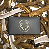 Image of The Antler Box-Premium Elk Antler Dog Chews (1 lb Bulk Pack) -Both Whole and Split Antlers-Long Lasting Organic Chewing Toys Sourced from Naturally Shed Antlers in The USA (Large)