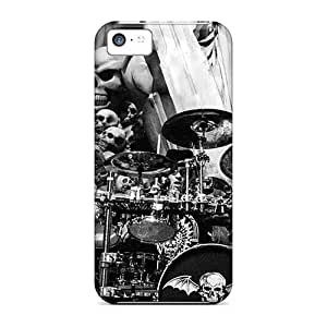 KellyLast Iphone 5c Shock Absorption Cell-phone Hard Covers Provide Private Custom Realistic Avenged Sevenfold Pictures [urp10544zgQU]
