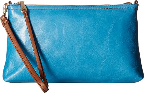 [Hobo Womens Leather Vintage Darcy Convertible Crossbody Bag (Capri)] (Hobo Purse)