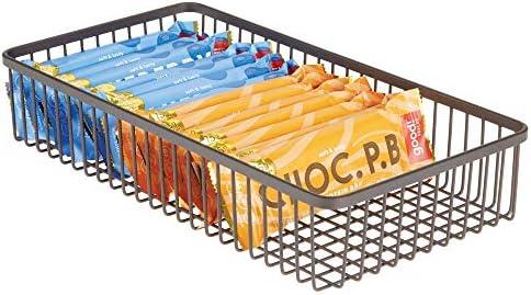 mDesign Farmhouse Kitchen Cabinet Organizer product image