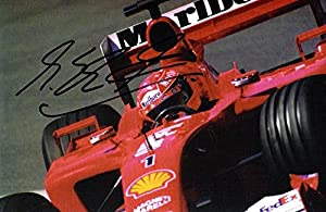 Michael Schumacher Signed - Autographed Formula One Driver 4x6 inch Photo - Guaranteed to pass or JSA - PSA/DNA Certified by Real Deal Memorabilia