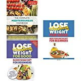 img - for Complete mediterranean diet cookbook, lose weight for good blood sugar diet and mediterranean diet 3 books collection set book / textbook / text book