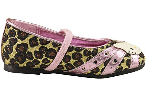 Ciao Gattino Ragazze Moda Ballerine Hk Lil Tatum Scarpe Fe3660 Leopard