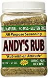 Andy's Rub, an All Natural Rub with Attitude, 21 oz.