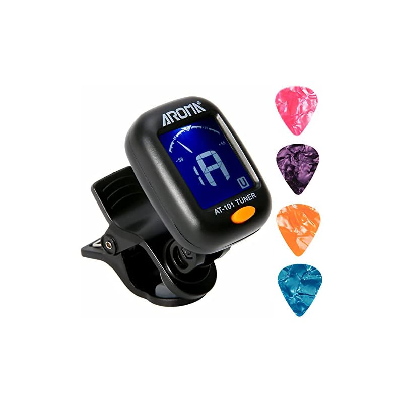 Clip On Guitar Tuner For All Instruments