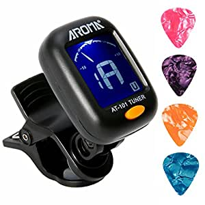 Amazon Com Clip On Guitar Tuner For All Instruments Ukulele