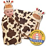 Sozo Swaddle blanket and cap set Cow ONE SIZE