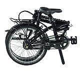 "Dahon Vitesse i7 20"" Obsidian Folding Bike Bicycle"
