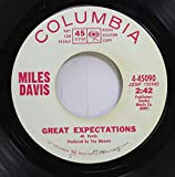 miles davis 45 RPM great expectations / the little blue frog