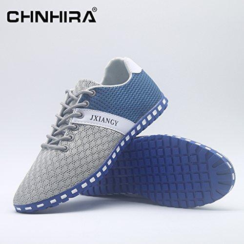Generic , Baskets mode pour homme - multicolore - Light-Blue,