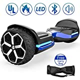 Magic hover 6.5' inch T581Hoverboard, All Terrain Off Road Hoverboard,with Bluetooth Speaker and App-Enabled, Smart Self Balancing Scooter and LED Lights Two-Wheel with UL2272 Certified