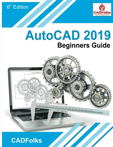 AutoCAD 2019 Beginners Guide Front Cover