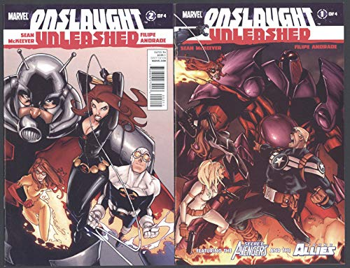 Onslaught Unleashed #1-4 NM Complete Set Full Run Marvel Comics 2011 CBX36