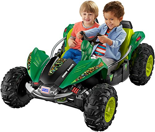 Power Wheels Nickelodeon Teenage Mutant Ninja Turtles, Dune Racer, Green