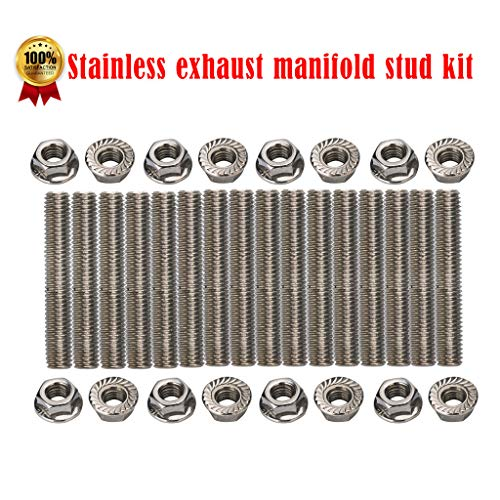 SMOXX Car OEM Accessories Stainless Exhaust Manifold Stud Kit For Ford 4.6 & 5.4 Liter V8 2 Manifolds