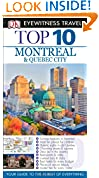 #8: Top 10 Montreal & Quebec City (EYEWITNESS TOP 10 TRAVEL GUIDE)
