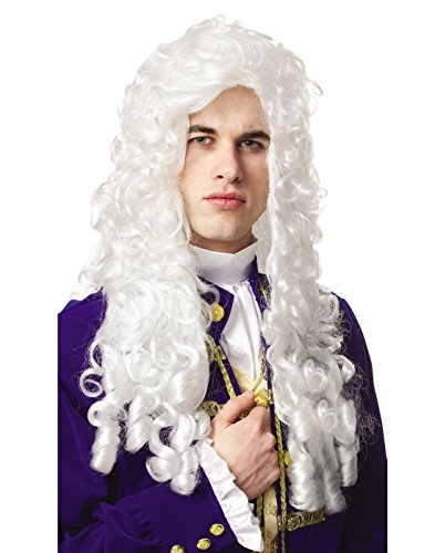 French Aristocrat Costume - Nobleman Wig Costume