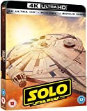 Solo: A Star Wars Story Steelbook 4K Ultra HD Includes 2D Version UK Exclusive Limited Edition Steelbook 3 Disks Region Free