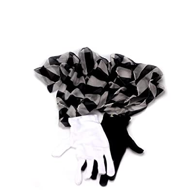 Enjoyer Magic Tricks Glove to Zebra Streamer Silk Scarf Professional Magician Props Street Magic Gimmicks: Toys & Games