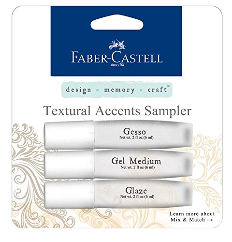 faber-castell-design-memory-craft-textural-accents-for-mixed-media-set-of-3-gesso-gel-medium-glaze