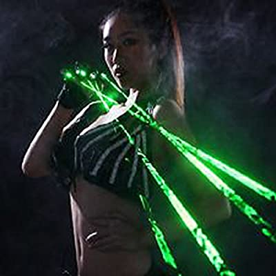 Asunflower® Laser Beam 532nm RED White Green Laser Glove Showing Stage Lighting DJ Show by Blother