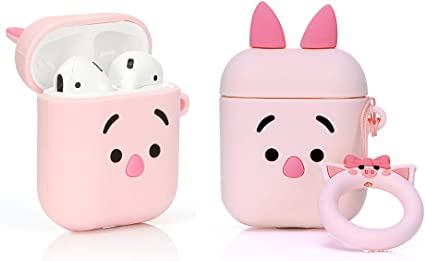Designed for Kids Girl and Boys Snoopy Cartoon Series ZAHIUS Airpods Silicone Case Cool Cover Compatible for Apple Airpods 1/&2