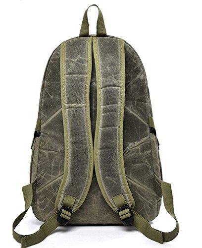 Escursionismo Moda Daypacks Andando Zaini Verde a Donna Daypack scuola VogueZone009 Esercito BXTC5qwn