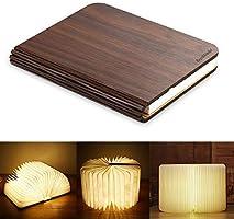 RegeMoudal led lámpara del libro,recargable plegable luz del libro de USB,para Luz de Lectura, Lámpara de Pared Lámpara de Mesa,regalo creativo