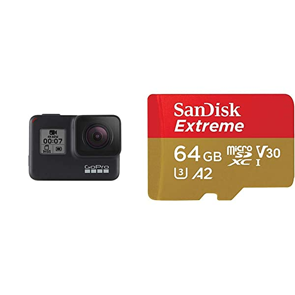 GoPro HERO7 Black + (1) microSD Card