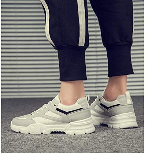 厚底 カジュアルシューズ メンズ メッシュ 軽量 ワークシューズ マーティンブーツ おしゃれ ローカット おしゃれ 大きいサイズ レースアップ ラウンドトゥ 幅広 滑りにくい 通気 通学 通勤 運動靴 メンズシューズ