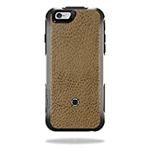 MightySkins Protective Vinyl Skin Decal for OtterBox Resurgence iPhone 6 Power Case cover wrap sticker skins Sandalwood Leather